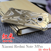 Simon THOR IRONMAN Shockproof Outdoor Metal Back Cover For Xiaomi 3 4 5 Max Redmi Note