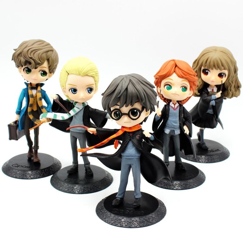 New QPosket Cute Big eyes Harry Potter Ron Weasley Hermione Granger Draco Malfoy