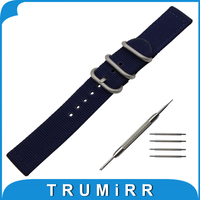 18mm 20mm 22mm Nylon Watch Band For Longines L2 L3 L4 Master Flagship Conquest Zulu Fabric