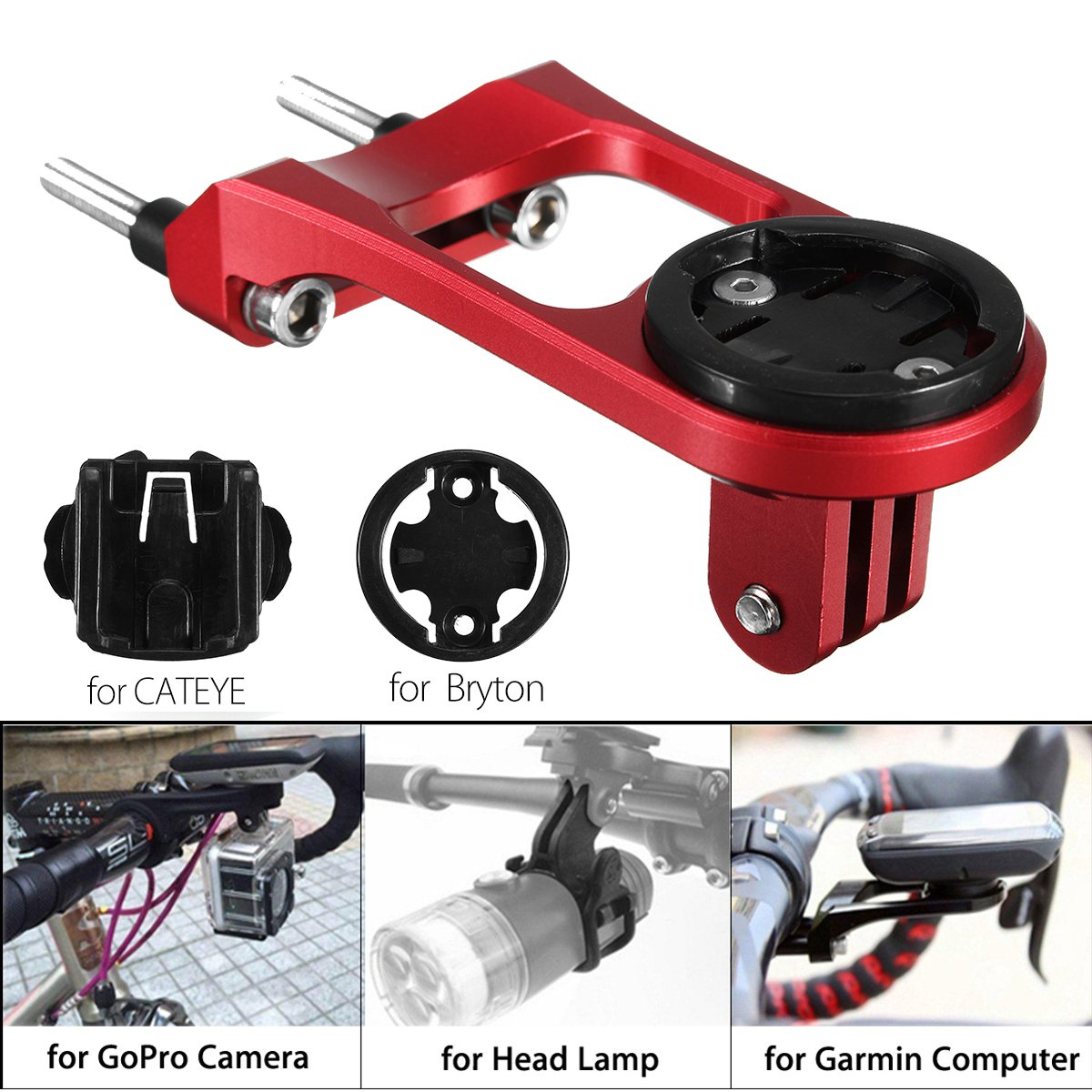 New Arrival Bike Cycling <font><b>Computer</b></font> Stem Extension Mount Holder for GARMIN Edge GPS for GoPro for Bryton Outdoor Ridding Accessory