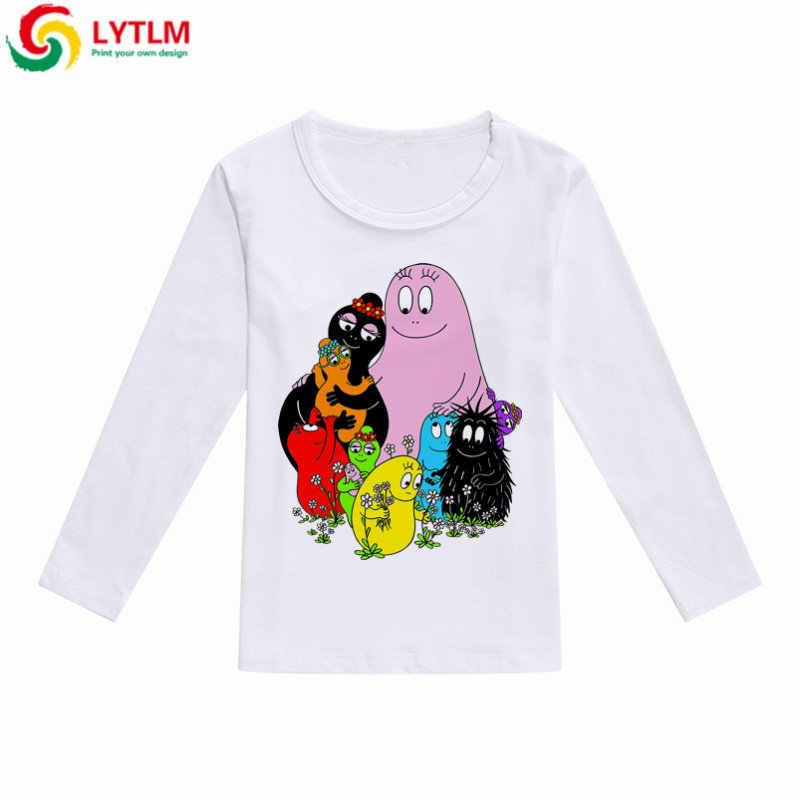23c5a5b17 ... LYTLM Baby Cartoon Animal Shirt Barbapapa Boy Girl 2018 Autumn Fashion Clothes  Kids Boys T- ...