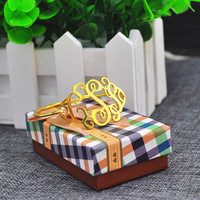 Monogrammed Bracelet Bangle Golden Personalized 3 Initial Engraved Thin Band 925 Silver OL Jewelry