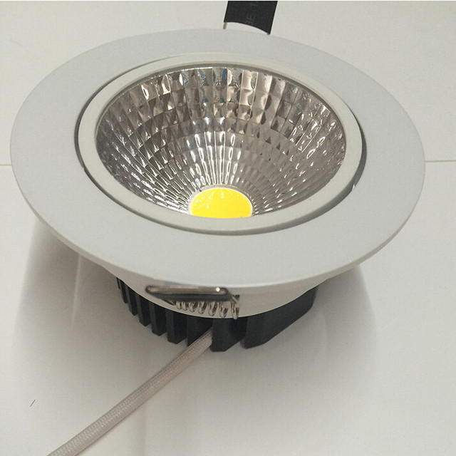 cool indoor lighting. Super Bright Dimmable 9W Led Down Light COB Ceiling Spot Recessed Downlights Warm Cool White Indoor Lighting