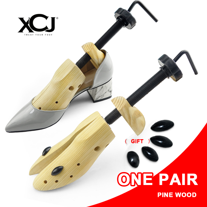 Shoe Tree 1 Pair Wooden Shoe Stretcher For Men and Women Genuine leather Shoes Expander shoes Width and height Adjustable XCJ fashion rabbit and grass pattern 10cm width wacky tie for men