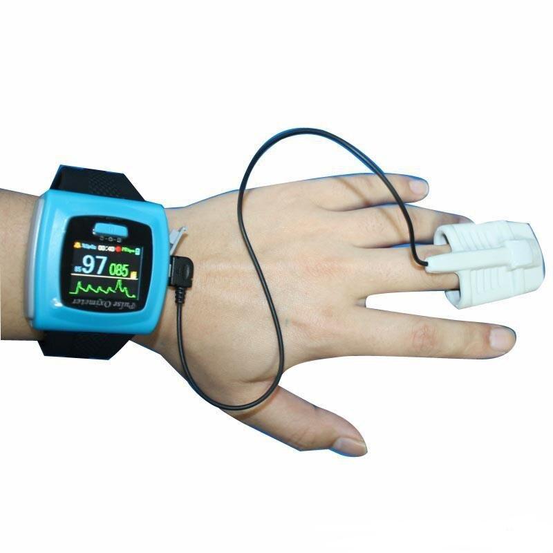 Display Colorido de oled Da Ponta Do Dedo de Pulso oxímetro de pulso Contec Sonda SpO2 + Software, Monitor de Pressão Arterial de pulso CMS50F oximetfast entrega!