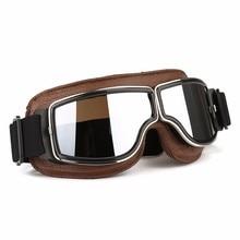 Новое поступление ABS ПК объектив мотоцикл летающие Скутер ATV очки шлем Очки ветрозащитный наружное