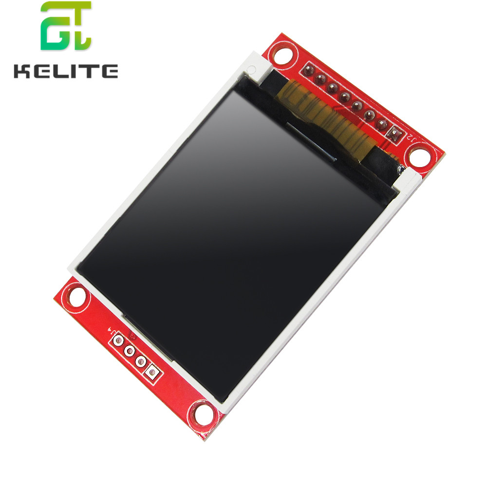 1.8 Inch TFT Touch LCD Module LCD Screen Module SPI Serial 51 Drivers 4 IO Driver TFT Resolution 128*160 New 5PCS