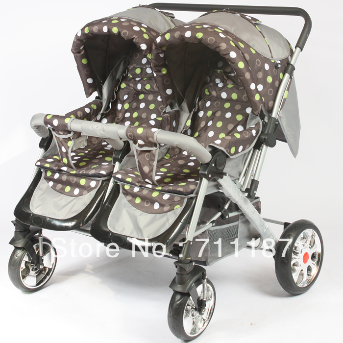 High Quality Twin Car Seat Stroller Comfortable Elegant Beautiful ...