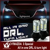 Guang Dian For Mazda3 Led DRL Turn Light Daytime Running Light Front Turn Signalslight All In