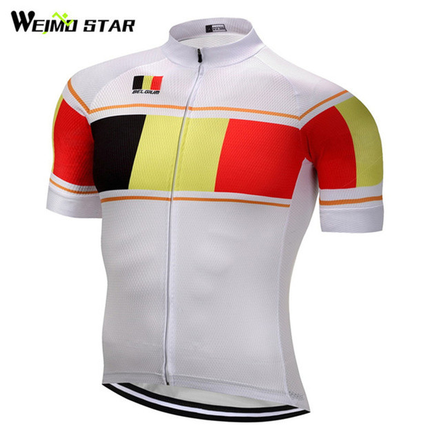 Bélgica Estilo MTB Bike Jersey hombres Ropa Ciclismo 2017 Maillot Ropa  Ciclismo Jersey Montar bicicleta Superior e9f0eca471542