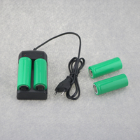 4PCS 26650 7200mAh 3.7V Rechargeable Li ion Batteries Battery + 1PC Universal Charger For 14500 16340 18650 26650 32650 Battery