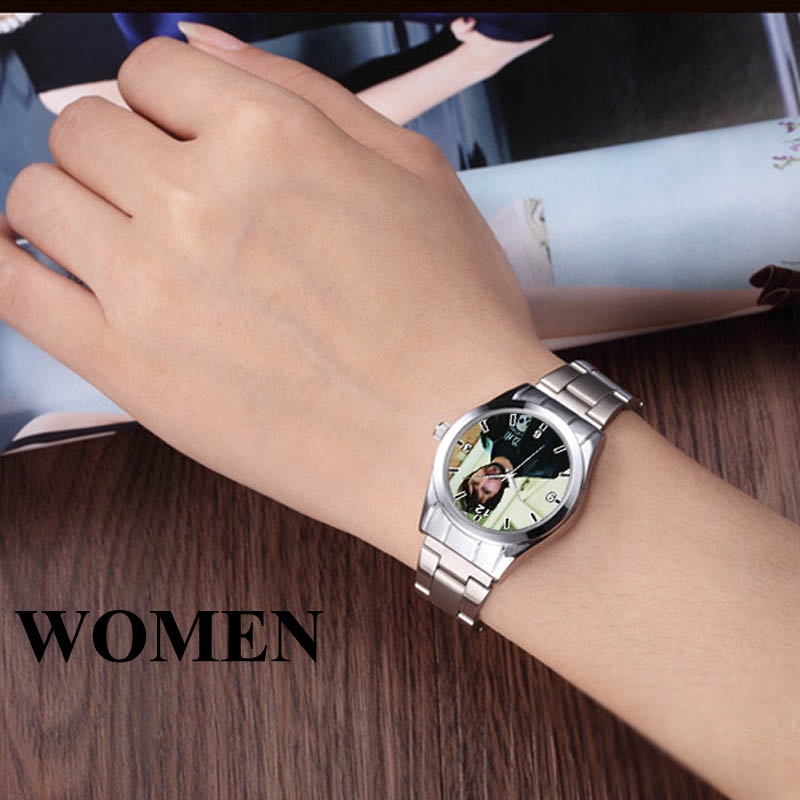 Image 3 - A3313 Cusrom logo Watch photo print Watches watch face Printing Wristwatch Customized Unique DIY Gift For lovers-in Lover's Watches from Watches