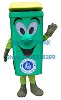 Отходы золы бен талисман костюм для взрослых охраны окружающей среды мультфильм корзины может тема аниме cosply карнавальные костюмы 2855