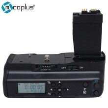 Mcoplus bg-550dl lcd timer vertical de la batería para canon eos 550d 600D 700D 650D/Rebel T2i T3i T4i T5i SLR Cámara Digital