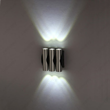 Indoor 2W/4W/6W LED Wall Sconce Lamp Up/Down Light Fixture Spotlight Porch Living Room Hallway Bar