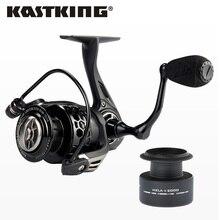 KastKing Mela II Upgrading Carbon Fiber Drag Spinning Reel with Extra Spool Freshwater Fishing Reel Free Shipping