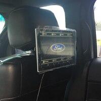 Автомобильный телевизор двойной DVD Встраиваемая в подголовник система ТВ экран для Ford Edge Android авто монитор 11,8 дюймов 2 шт