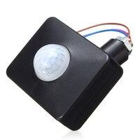 Super Quality Auto LED Outdoor Infrared PIR Motion Sensor Detector Wall Light Switch Adjustable Intelligent Sensor