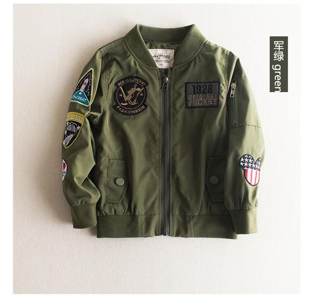 439e5f0b3 Niño de los cabritos Niños Rompevientos Para Niños prendas de Vestir  Exteriores Blazer Jacket Coat Primavera