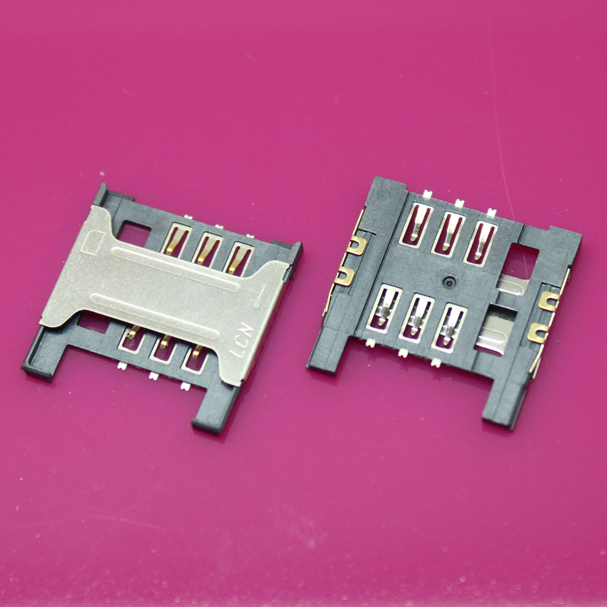 YuXi 5PCS/lot, brand new SIM card reader connector for ZTE Blade L2 socket holder module,