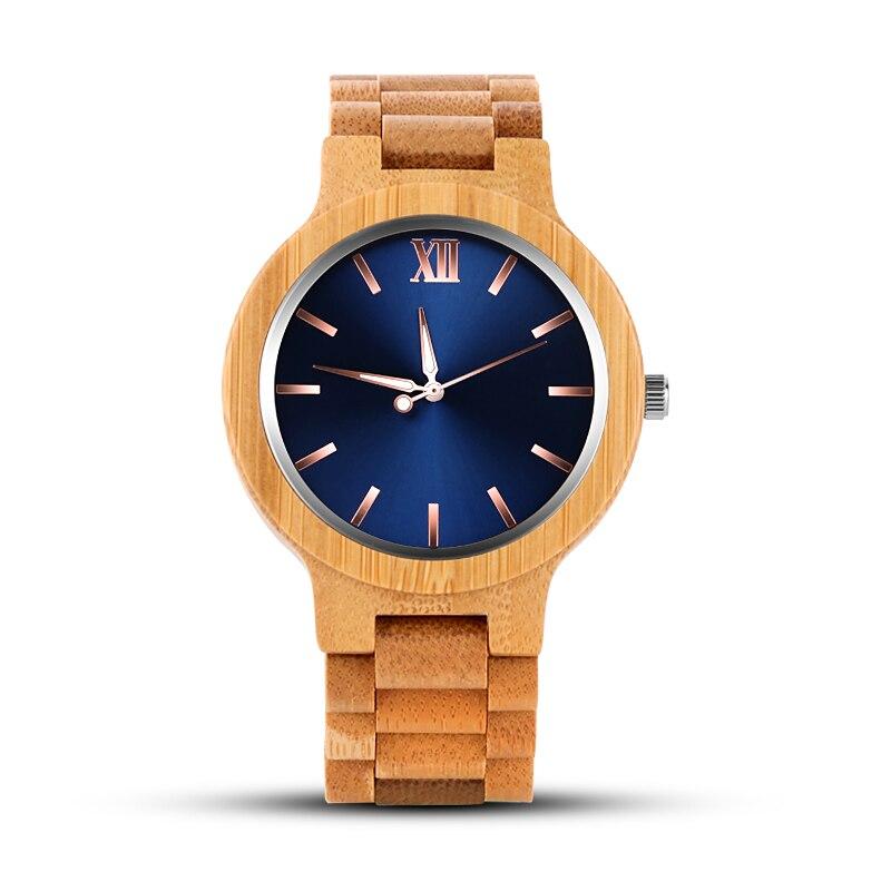 WAKNOER Wood Watches Luxury Wooden Watch Ladies Watches For Women Popular Luxury Full Wood Men's Watch Clock Montre Femme Saat