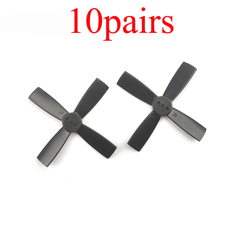 10Pairs <font><b>2035</b></font> 2 inch 50mm <font><b>Propeller</b></font> Prop 4 Blades Paddle CW CCW <font><b>Propellers</b></font> for 1.5mm 1102 1103 1104 Motor Brushless FPV Drone image