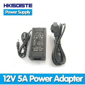 ¡Precio más bajo! nuevo Adaptador convertidor de CA para DC 12V 5A 60W LED cargador de fuente de alimentación para 5050/3528 SMD LED luz o Monitor LCD CCTV|monitor cctv|cctv lcd monitor|cctv converter -
