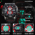 North hombres reloj deportivo digital multifunción analógica pantalla hombre reloj 30 m impermeable 2017 militar del deporte del cuarzo del reloj de los hombres