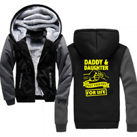 Autumn Winter Hoodie Daddy And Daughter Best Friends For Life Fashion Hoodies Brand Men Printing Sweatshirt Male Hoody Hip Hop