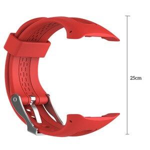 Image 4 - Garmin 포어 러너 10 15 GPS 러닝 스포츠 시계에 대 한 실리콘 시계 스트랩 여성 남성 교체 밴드에 대 한 작은 대형