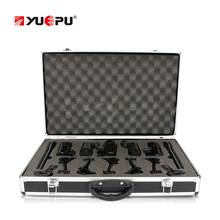 YUEPU RU-7C Professional Condenser Microphone Set 7 Pieces High Sensitivity Kit Instrument HD Recording Outdoor Band Music Live