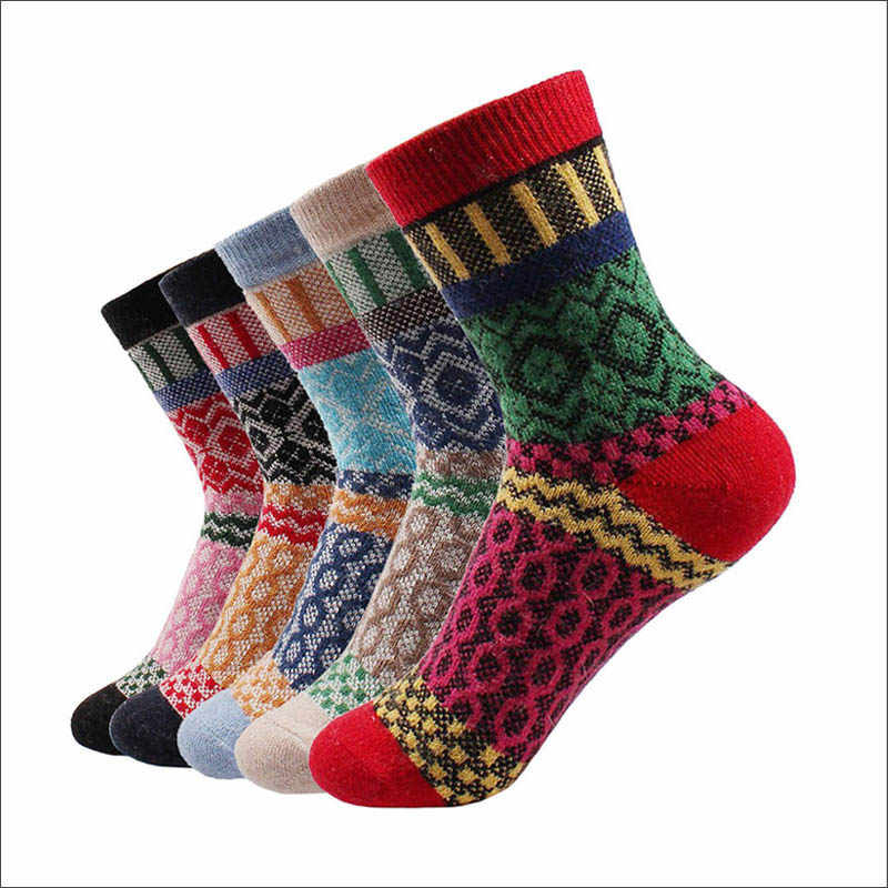 73dd83dad3802 New Winter Thermal Cashmere Socks Women Warm Rabbit Wool Socks Women's  Thicken Socks Girl