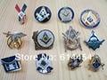 Hot !  Lot of 12 PCS Different  Masonic Lapel Pins Badge Mason Freemason B4
