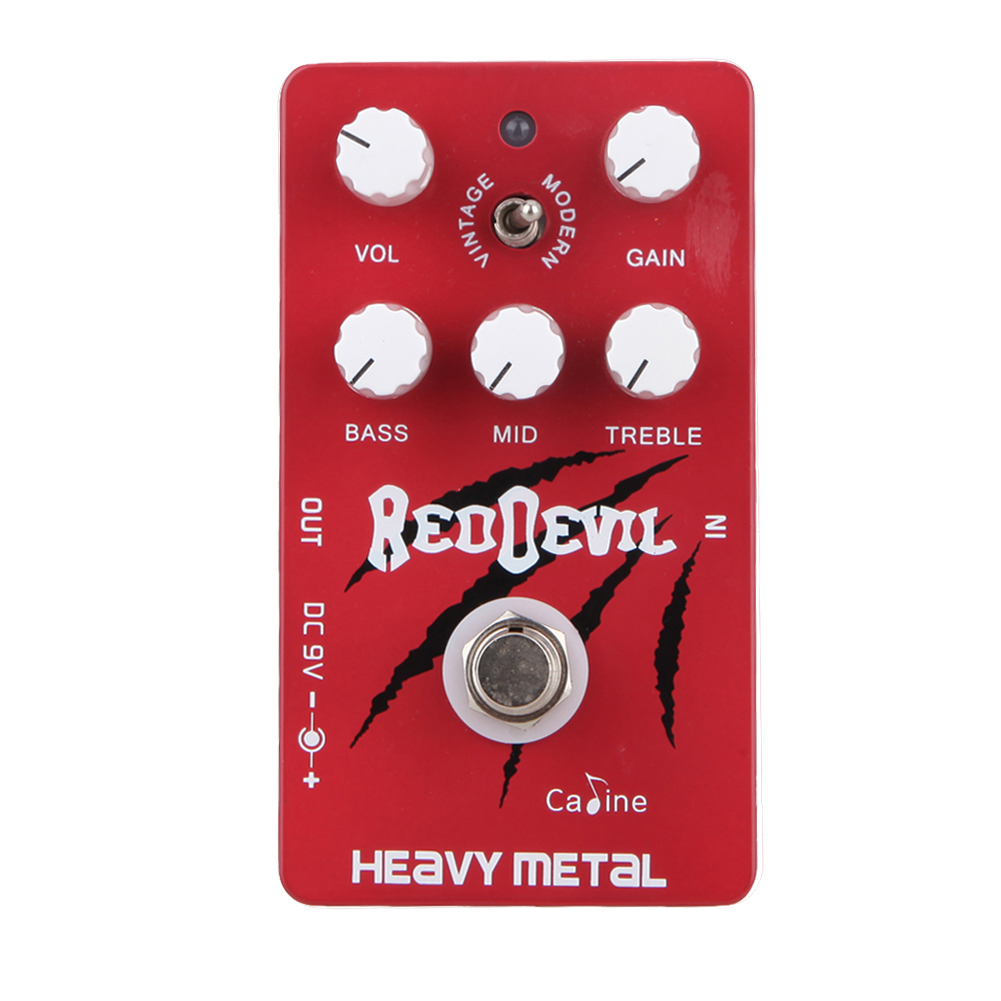 CP-30 Heavy Metal Guitar Digital Delay Pedal Caline Guitar Effect Guitar Pedals CP30 Compressor Vintage Style and Modern Style caline cp 26 guitar effect pedal snake bite reverb effect pedals true bypass design with delay effect no coloring sound