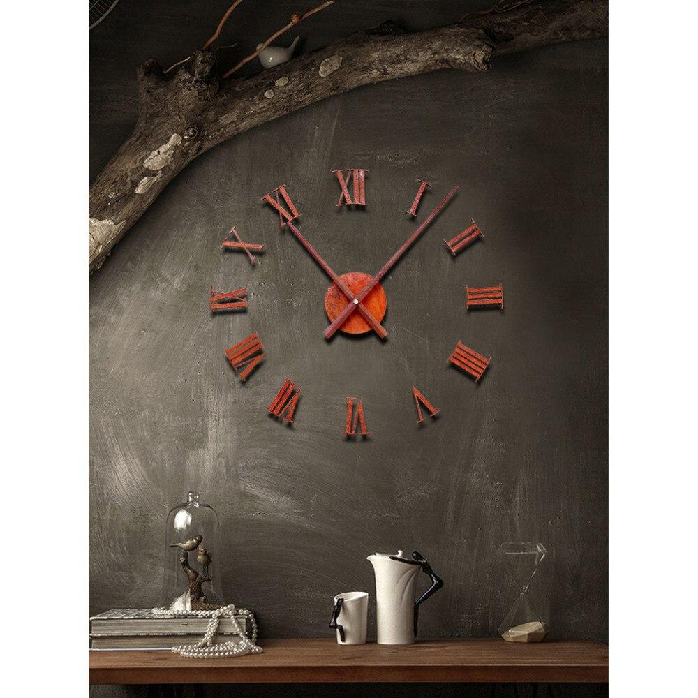 Պատի ժամացույց Saat Reloj Clock Duvar saati Relogio de - Տնային դեկոր - Լուսանկար 2