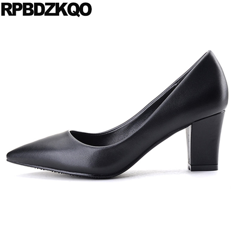 Pumps Size 4 34 Slip On Office Shoes
