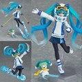 New Japan anime figma Hatsune Miku 14 cm pvc action figure collectible modelo brinquedos crianças brinquedos juguetes kawaii boneca quente venda