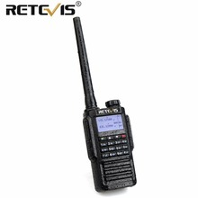 Retevis RT87 Professional IP67 Waterdichte Walkie Talkie 5W 128CH VHF UHF Dual Band Scrambler VOX FM Two Way Radio Walkie-Talkie