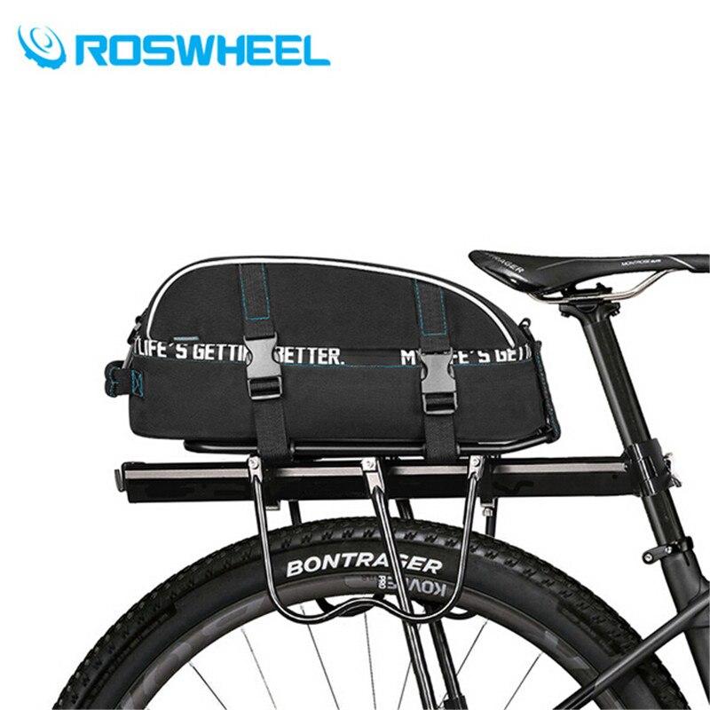 ROSWHEEL 8L Bike Hinten Rack Tasche Wasserdichte Fahrrad Korb ...