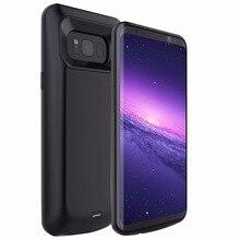 Idealforce 2017new для Samsung Galaxy S8 S8 плюс Батарея случае Перезаряжаемые Запасные Аккумуляторы для телефонов Резервное копирование Внешняя Батарея Зарядное устройство Чехол
