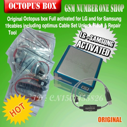 Octopus box for Samsung &LG 19 cable-c2
