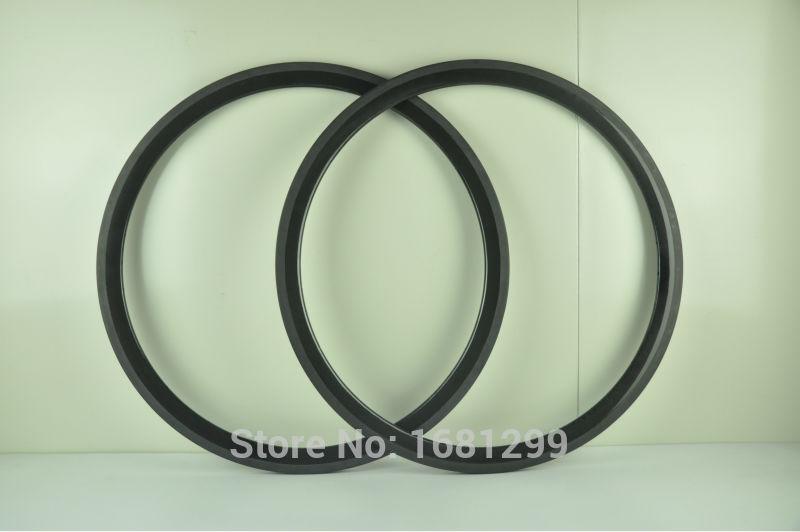 2Pcs New lightest 700C 38mm tubular rim Road bicycle 3K UD 12K full carbon fibre bike wheels rims 360g Free shipping цена