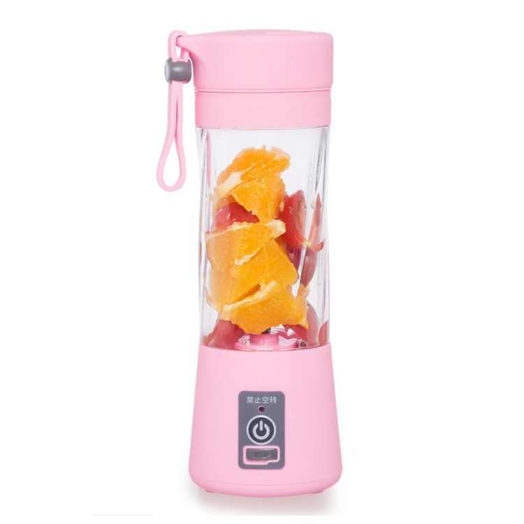 24 pcs 380 ml Smoothie Criador Blender Espremedor de Frutas Elétrico USB Portátil Recarregável Mini Portátil Xícara de Suco de wen6354