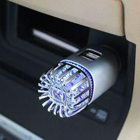 2 in 1 Car Dual USB Car Negative Ion Car Air Purifier Deodorization Improves Air Car Air Purifiers New