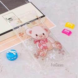 Милый чехол на заднюю панель с изображением цветов, бабочек, медведя, дерева, силиконовый гелевый мягкий чехол для телефона из ТПУ для sony Xperia...
