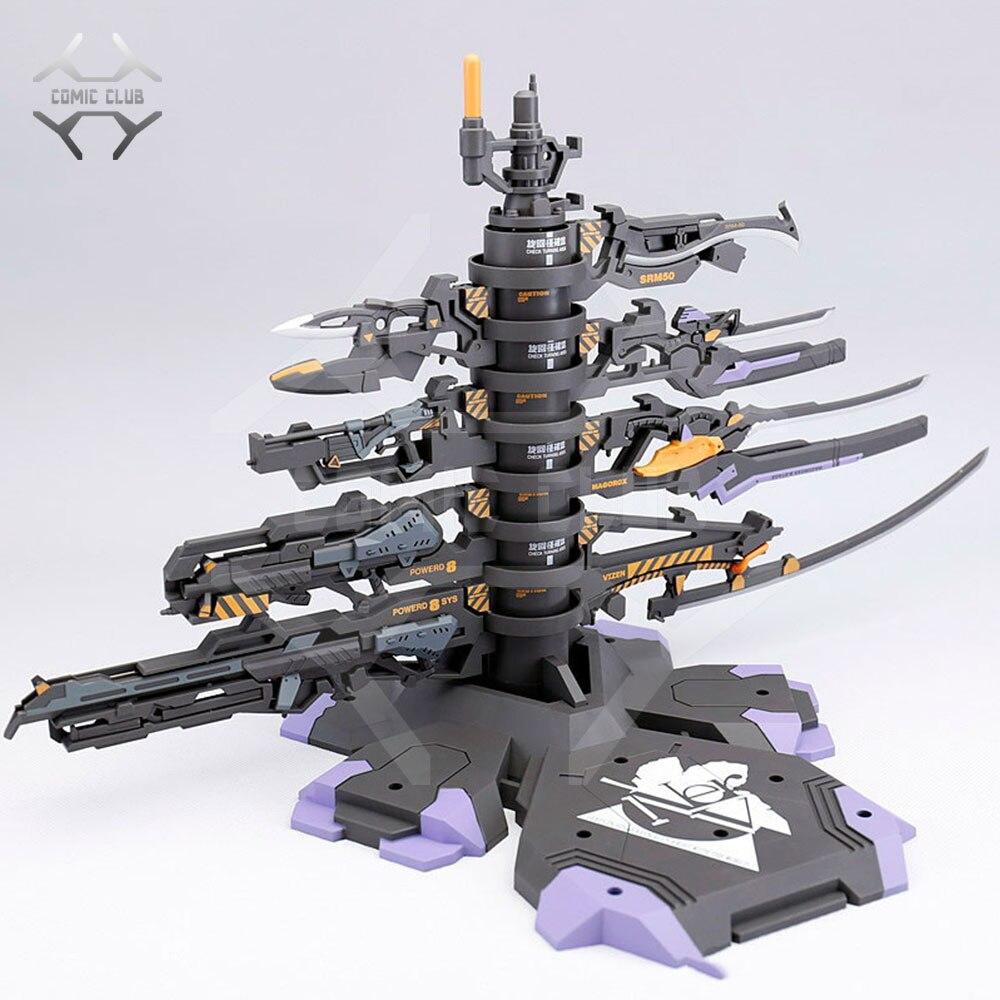 COMIC CLUB DRAGON MOMOKO Gundam model Arming tree and progressive weapons for NEON GENESIS EVANGELION EVA