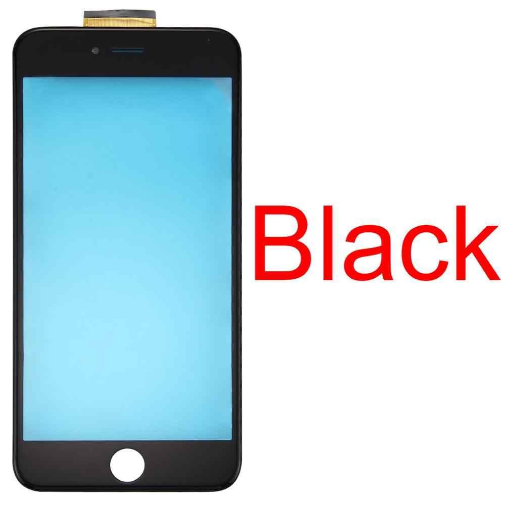 Новинка для iPhone 6s Plus сенсорная панель с передней ЖК-монитор bezel рамка & OCA оптически прозрачный клей