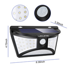 цена на LED Night Light with Motion Sensor Solar Power Nightlight for Garden Decoration Wireless Wall Night Lamp 68 LED Sensor Luminaria