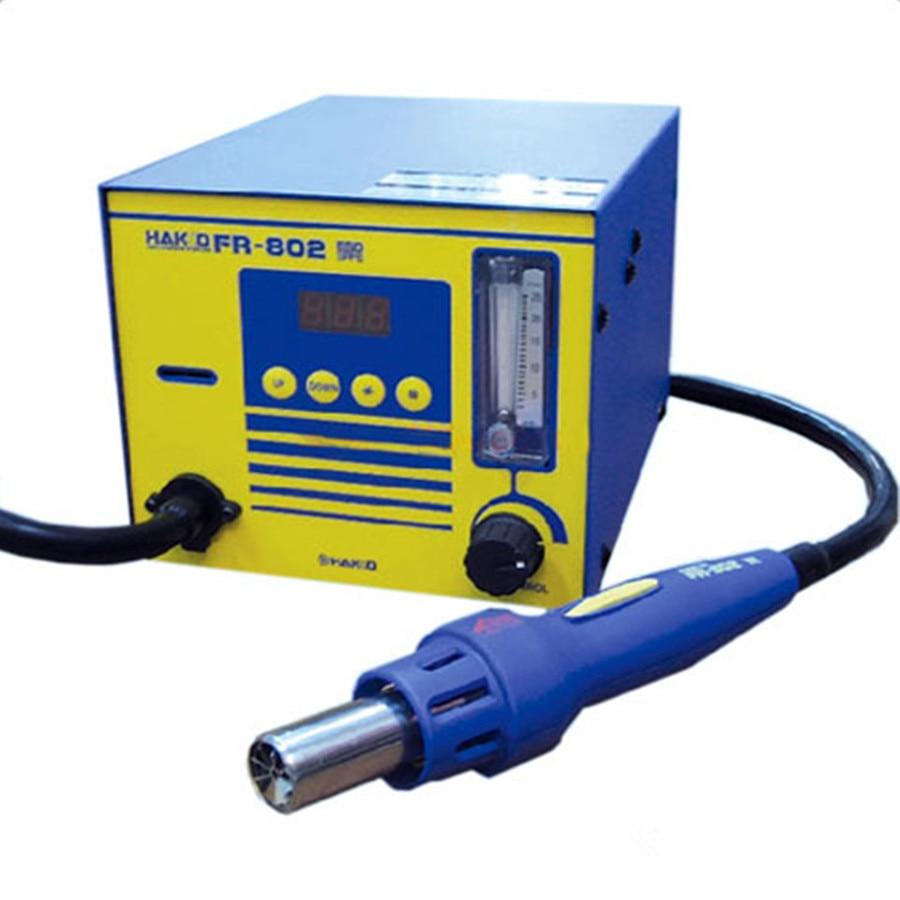 HAKKO FR-802 ESD Digital Rework Desoldering Station Solder with Heat Hot air Gun BGA Hot Air Nozzles Soldering Welding stations  цены