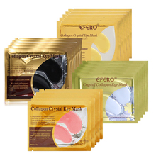 24K Gold Eye Mask Crystal Collagen Eye Mask Eye Patches for Face Care Dark Circles Remove Gel Pad Mask for the Eyes Anti Aging 5packs 10pcs collagen crystal eye hydrogel patches for eyes pad face mask for skin care remove dark circles puffiness eye patch